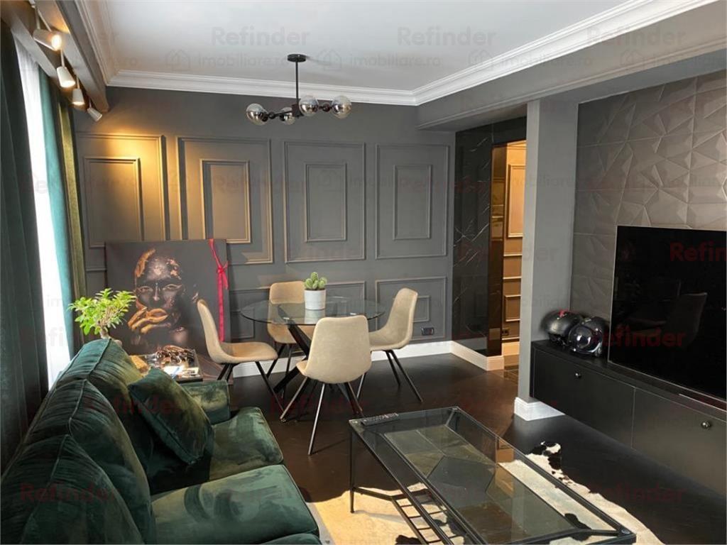 Vanzare apartament ultramodern cu finisaje si mobilier de Lux Baneasa