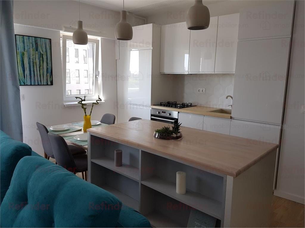 Inchiriere apartament 2 camere ultramodern Barbu Vacarescu