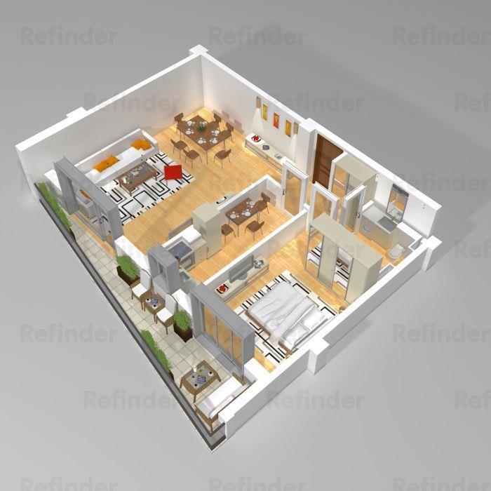 Vanzare apartament superb 2 camere  Sos. Nordului