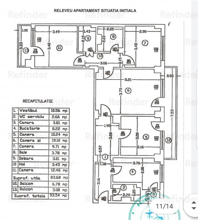 Vanzare apartament 3 camere Stefan Cel Mare  Lizeanu, Obor