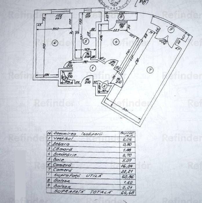 Vanzare Apartament 2 Camere Pta Unirii