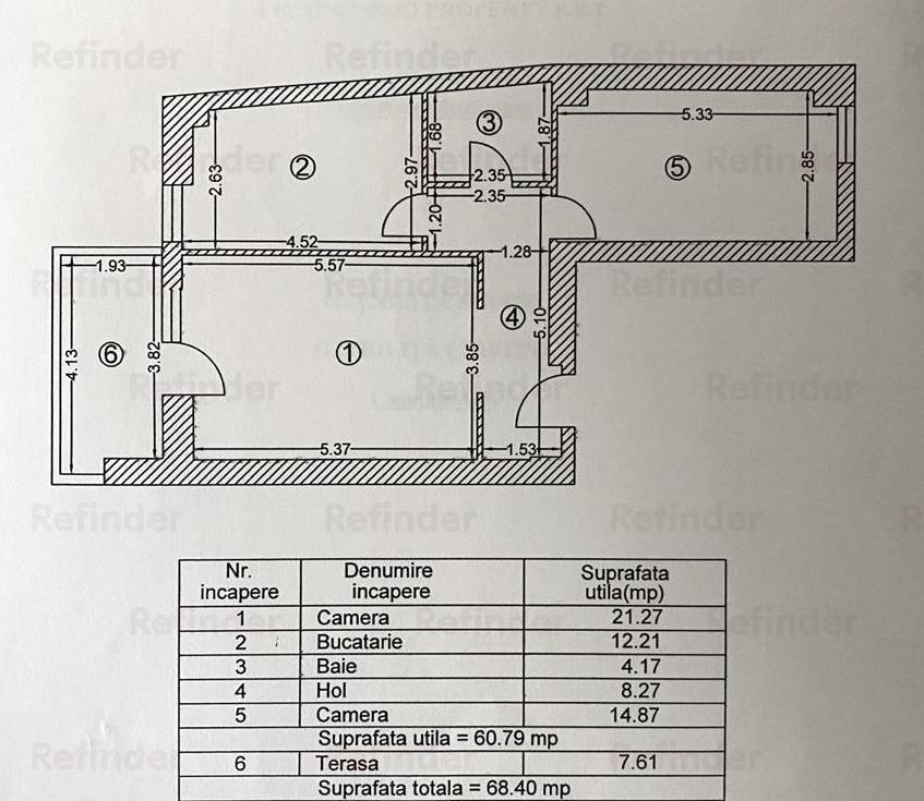 Vanzare Apartament 2 Camere Vitan Mall  Metrou Mihai Bravu