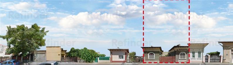 Vazare teren si doua contructii reconsolidabile sau demolabile