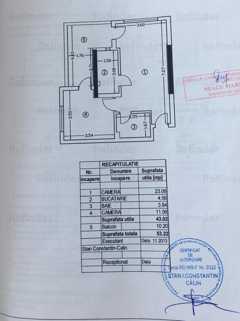 Vanzare apartament 2 camere Drumul Taberei  Valea Cricovului