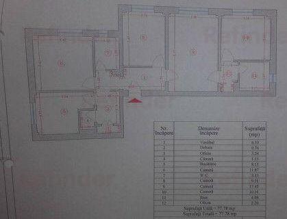 Vanzare apartament 4 camere Tineretului