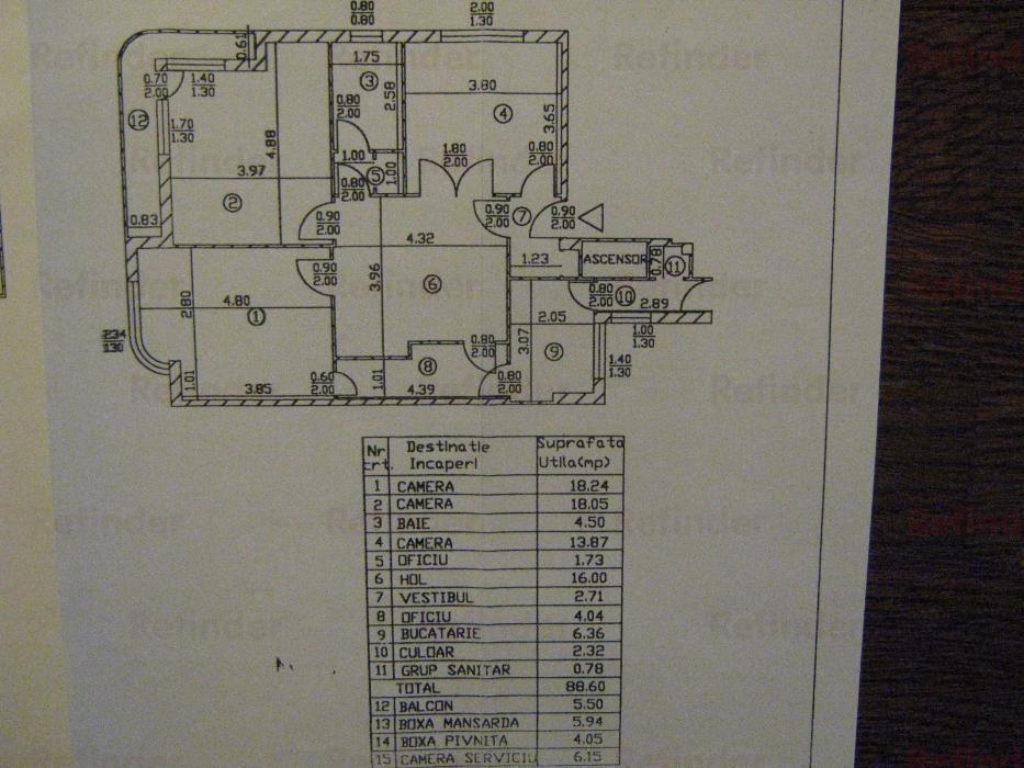 Vanzare apartament interbelic 3 camere zona Mosilor  AVPS