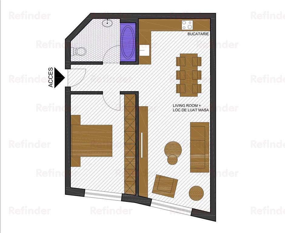 Apartament 2 camere   Herastrau   Sat Francez