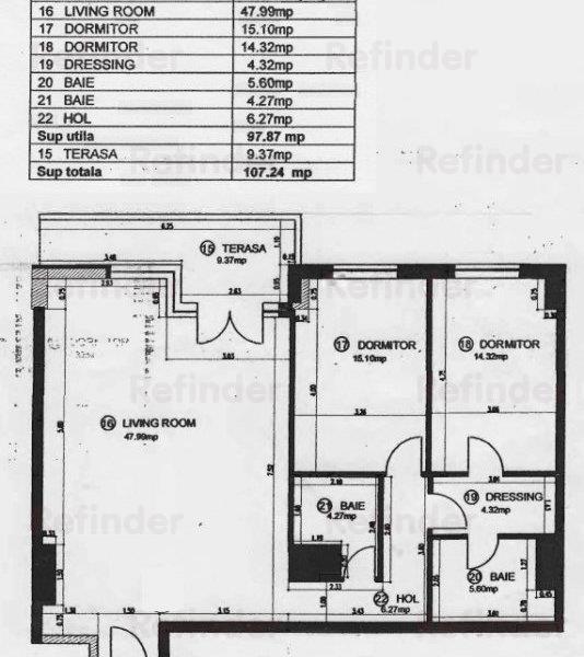 3 camere | Herastrau | str Aron Cotrus