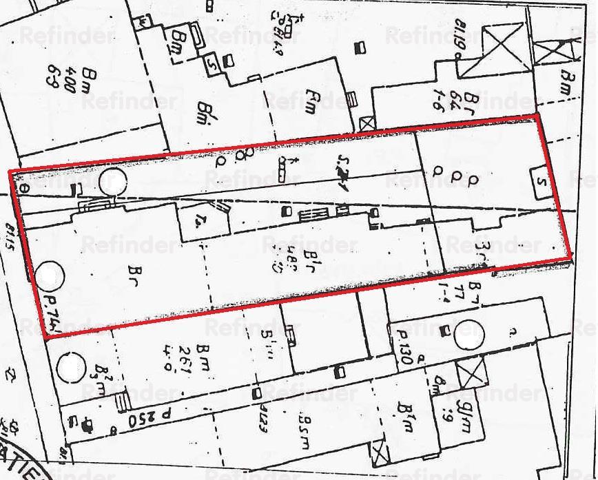Vanzare teren 730 mp | deschidere 16 ml | Dacia  Eminescu  Romana | POT 80%, CUT 6 |