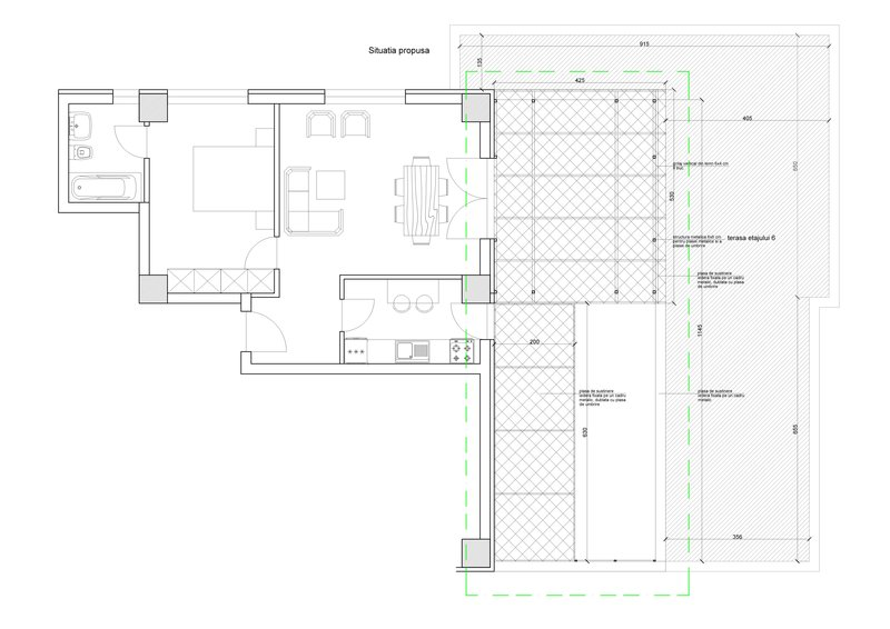 vanzare apartament 2 camere mihai bravu | bloc nou | terasa superba Bucuresti