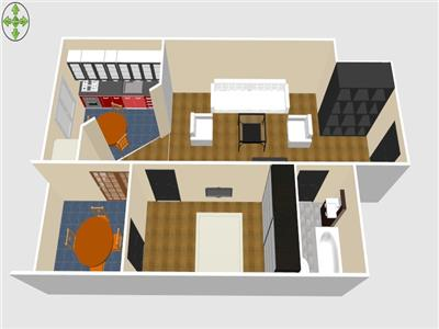 Vanzare apartament 2 camere 9 Mai Ploiesti