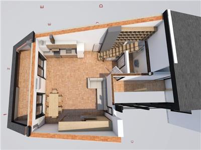 Inchiriere apartament 2 camere mansarda Jiului, Bucuresti