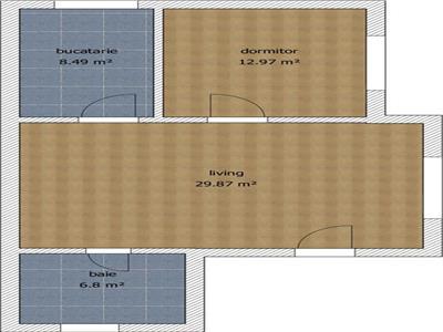 Vanzare apartament 2 camere BLOC NOU Republicii