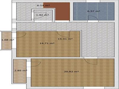 Vanzare apartament 3 camere BLOC NOU Republicii