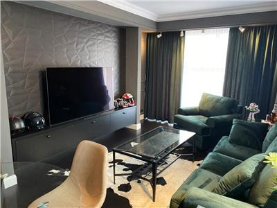 vanzare apartament ultramodern cu finisaje si mobilier de lux- baneasa Bucuresti