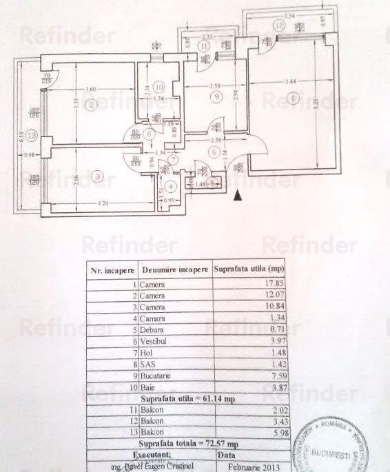 Vanzare Apartament 3 camere Colentina, Doamna Ghica