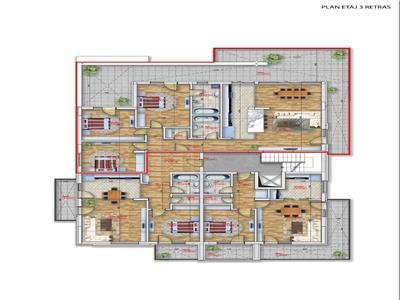Vanzare penthouse 4 camere Pipera  Emil Racovita