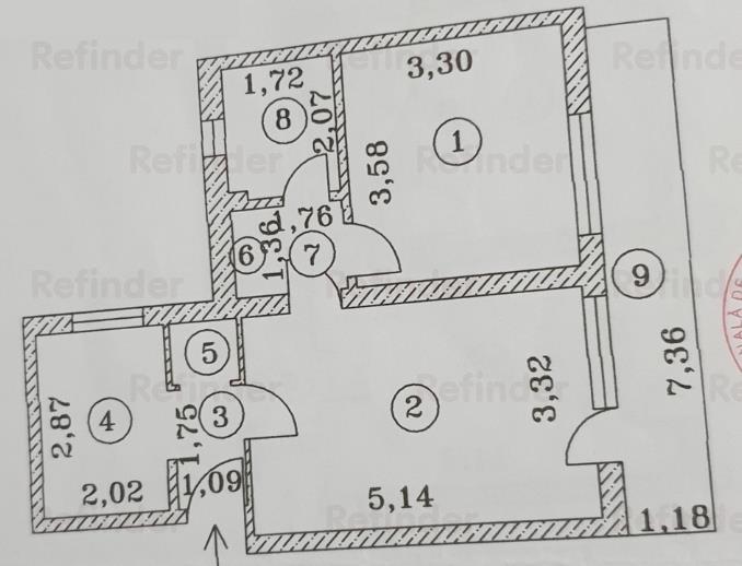 Vanzare Apartament 2 camere Ferdinand
