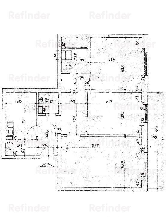 Vanzare Apartament 3 Camere Teiul Doamnei