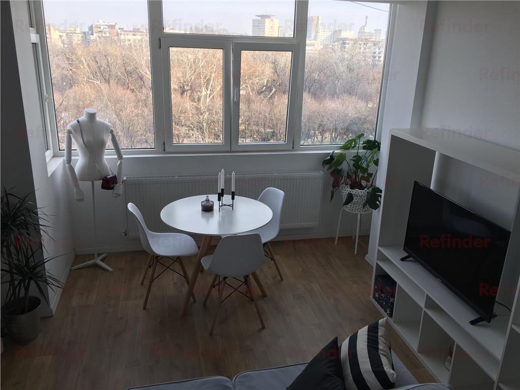 inchiriere apartament 2 camere cismigiu vedere parc Bucuresti