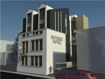 vanzare imobil cu proiect hotel boutique dorobanti - ase Bucuresti