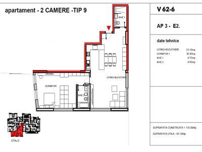 vanzare apartament 2 camere dacia - romana, bucuresti