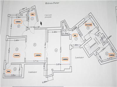 Inchiriere apartament 4 camere Rosetti