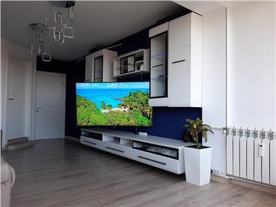 Inchiriere apartament 3 camere Vatra Luminoasa   mobilat si utilat   loc de parcare