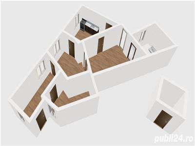 vanzare apartament in vila 3 camere zona  bd marasesti Bucuresti
