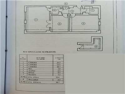 oferta vanzare apartament 3 camere bld. magheru Bucuresti