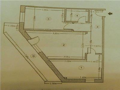 Vanzare apartament 2 camere Dristor | mobilat si utilat | bloc nou