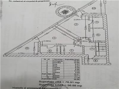 vanzare 5 camere | herastrau | 162 mp utili + 62 mp terasa/gradina | loc parcare subteran Bucuresti