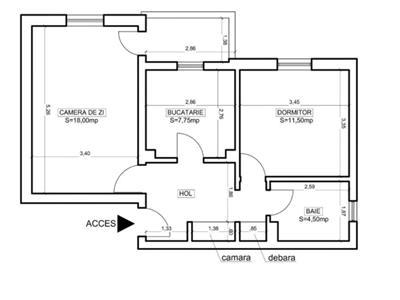 Apartament 2 camere | Aviatiei | Nicolae Caramfil | bloc reabilitat termic