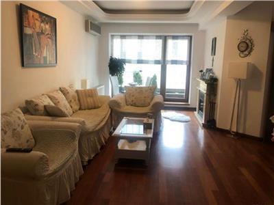apartament lux | herastrau | sat francez | 3 camere, complet mobilat | 110 mp utili + 16 mp terase Bucuresti