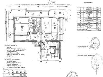 apartament 3 camere | zona caramfil-herastrau | 136 mp | loc de parcare subteran Bucuresti