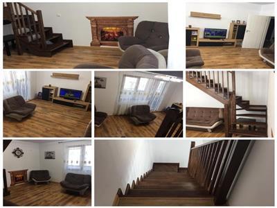 Vanzare apartament tip duplex 5 camere   mobilat si utilat   centrala termica proprie   bloc nou   loc de parcare