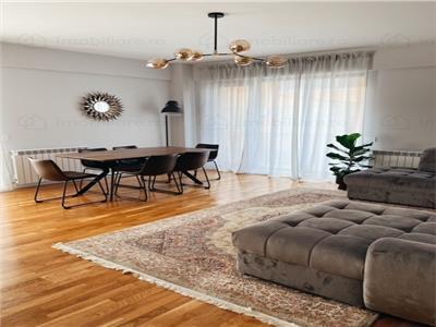 Apartament luminos | 3 camere | Aviatiei | superb mobilat + complet utilat
