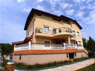inchiriere vila baneasa - antena 1 | teren 1400 mp | piscina | gradina | garaj | Bucuresti