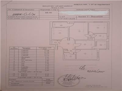 oferta vanzare apartament 4 camere, liviu rebreanu, bloc 1980, etaj 2, parcare, 88mp, 2 bai, 2 balcoane . Bucuresti