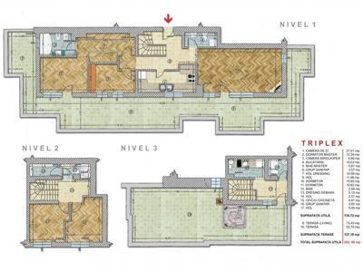 vanzare penthouse 5 camere tip triplex piata alba iulia | bloc nou | loc de parcare la subteran Bucuresti