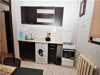 oferta vanzare apartament 2 camere, titan-l rebreanu, bloc 1984, reabilitat, etaj 1, decomandat, pozitie spatele blocului, mobilat si utilat, liber Bucuresti
