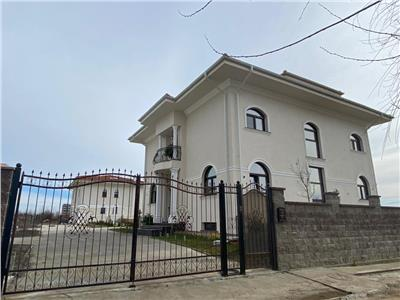 inchiriere vila s+p+1e+m | baneasa - sisesti | 610 mp utili | totul nou - primul chirias | teren 800 mp Bucuresti