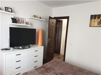 Oferta apartament 3 camere, langa gura de metrou Costin Georgian, etaj 1, amenajat, mobilat complet