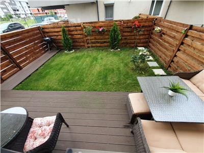 superb!!! apartament 2 camere, titan sun park, 77mp, parter cu gradina si loc de parcare in proprietate, amenajat, mobilat superb, gradina mobilata, exceptional!!! Bucuresti