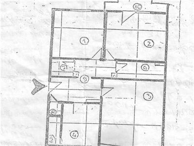 vanzare apartament 3 camere unirii - mircea voda, bucuresti