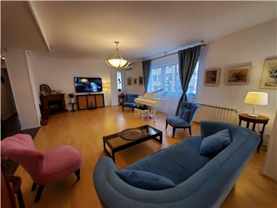 vanzare apartament 3 camere herastrau | mobilat si utilat | 2 locuri de parcare la subteran Bucuresti